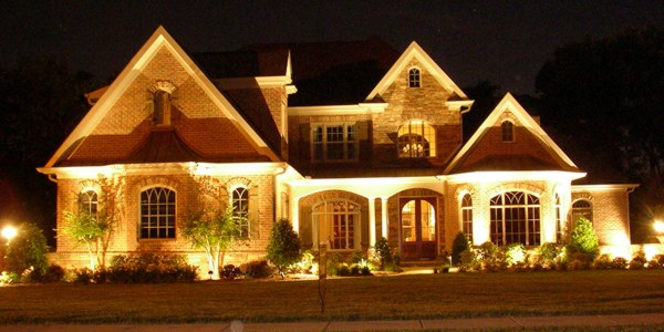 Dramatic and Decorative Outdoor Lighting in North Atlanta GA