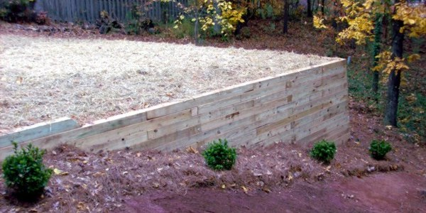 Retaining Wall Construction in Northwest Georgia