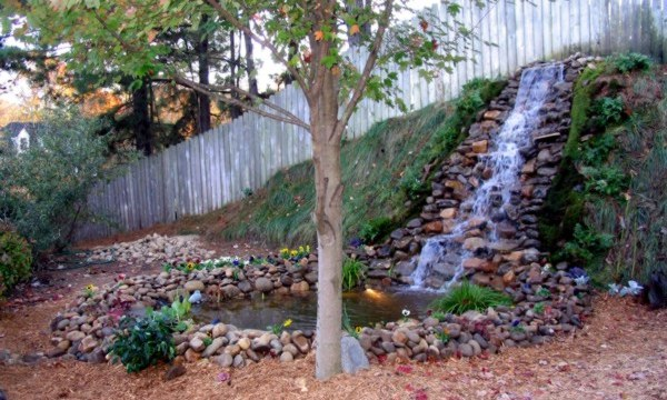 Ponds, Waterfalls and Water Features - Landscaping Water FeaturesAssociated Environmental Landscape